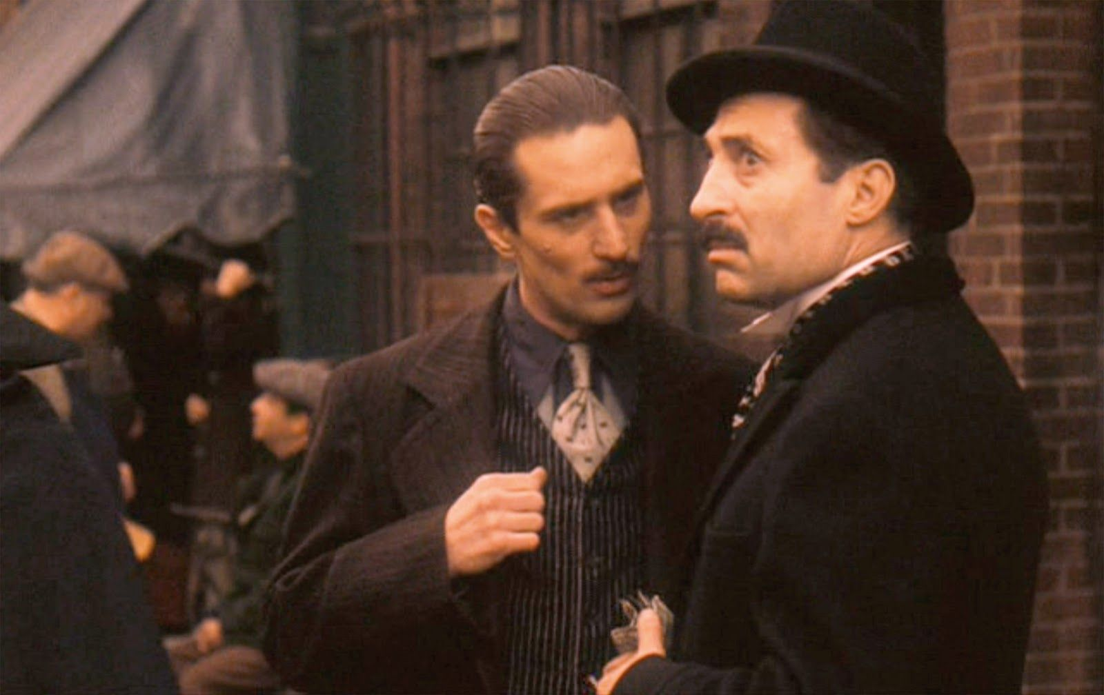 """The Godfather: Part II"""", directed by Francis Ford Coppola, based on the  novel 'The Godfather' by Mario Puzo. Seen h… 