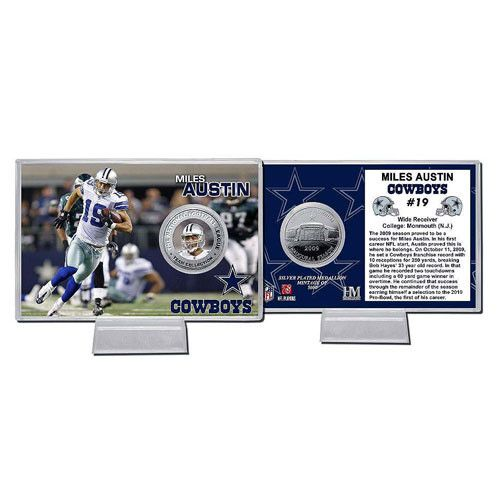 huge discount 8d6d8 2c121 Miles Austin Silver Coin Card | Products | Coin card ...