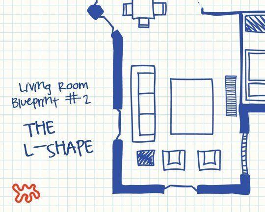 Living Room Blueprints 3 Versatile Sofa Chair Layouts To Try Dining Room Layout Versatile Sofa L Shaped Living Room Layout