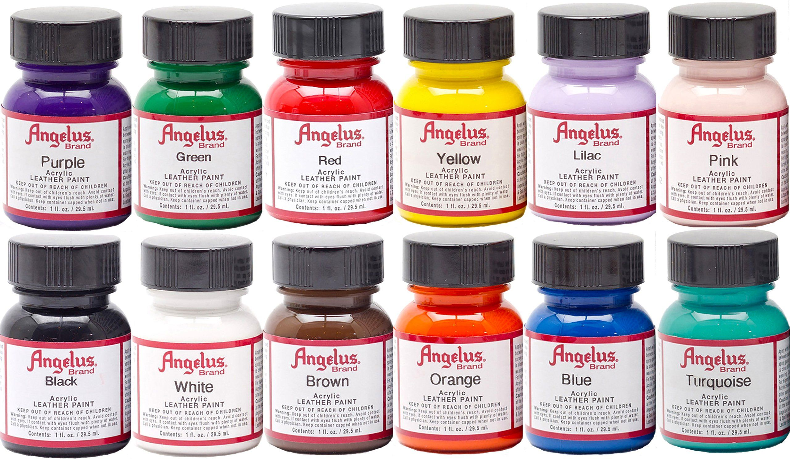 Angelus Leather Paints These Paints Are Formulated Specifically For Leather And Are Great For Customizing Painting Leather Leather Paint Leather Diy Crafts