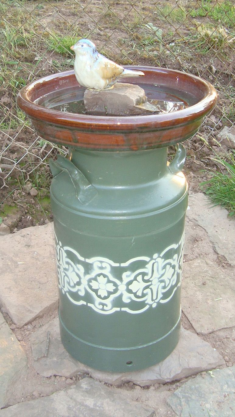 Pin by Ben Blevins on Backyard creations Painted milk