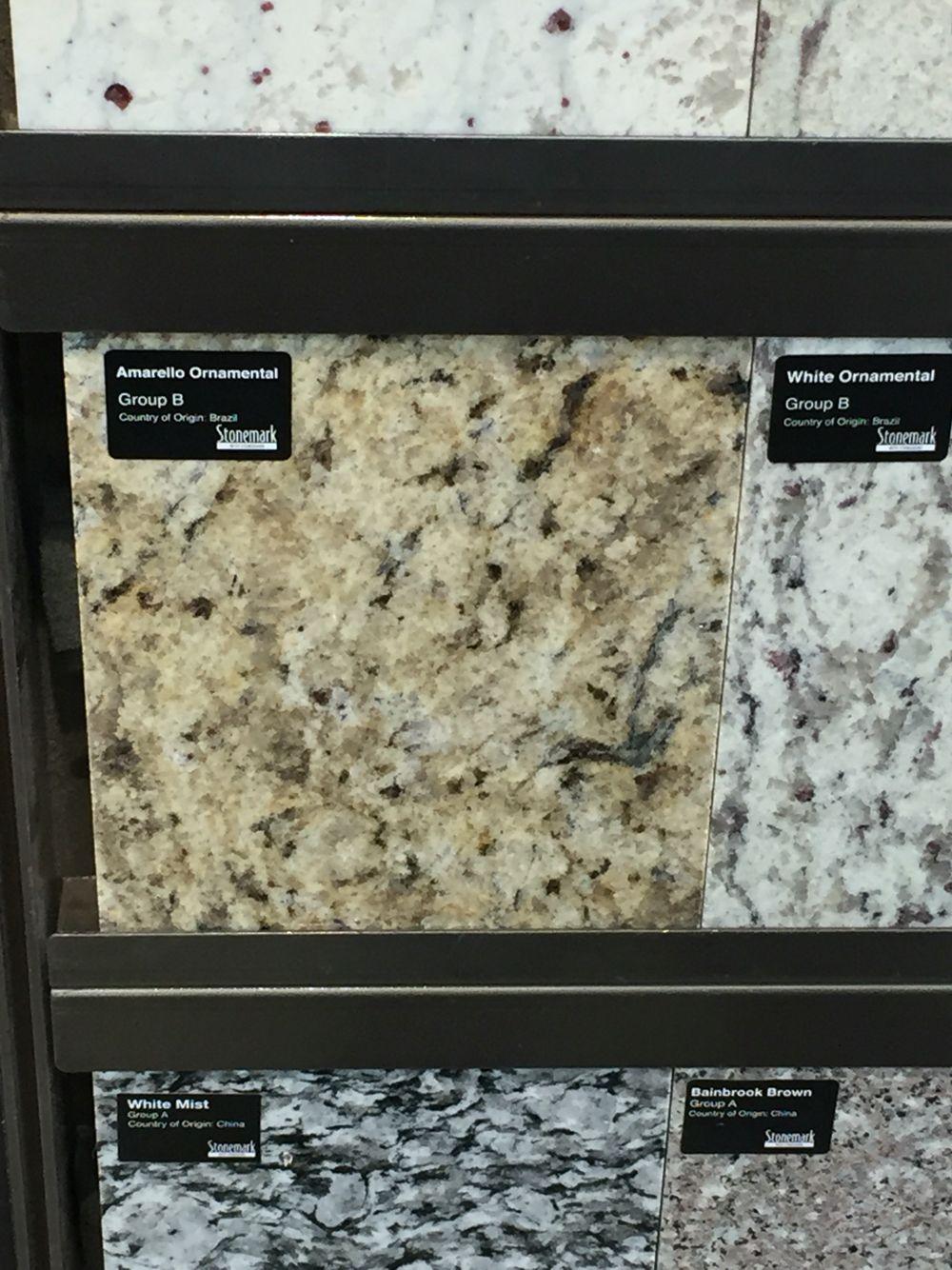 Amarillo Ornamental Granite From Home Depot