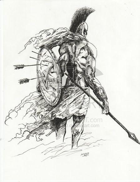 Pin By Norbert Turi On Tat Spartan Tattoo Warrior Tattoos Warrior Tattoo