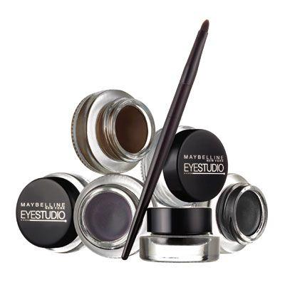 Maybelline Eyestudio Gel Liner Review Maybelline Eye Studio Maybelline Gel Eyeliner Gel Eyeliner