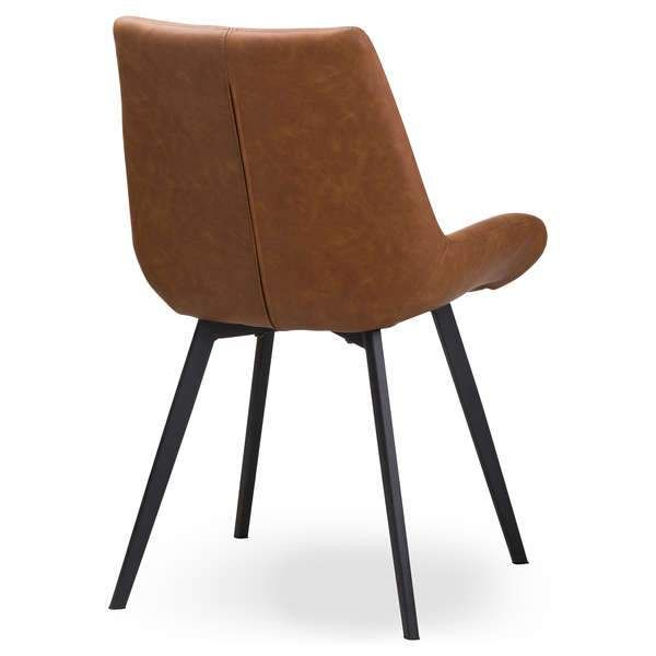 Leather Tan Dining Chair