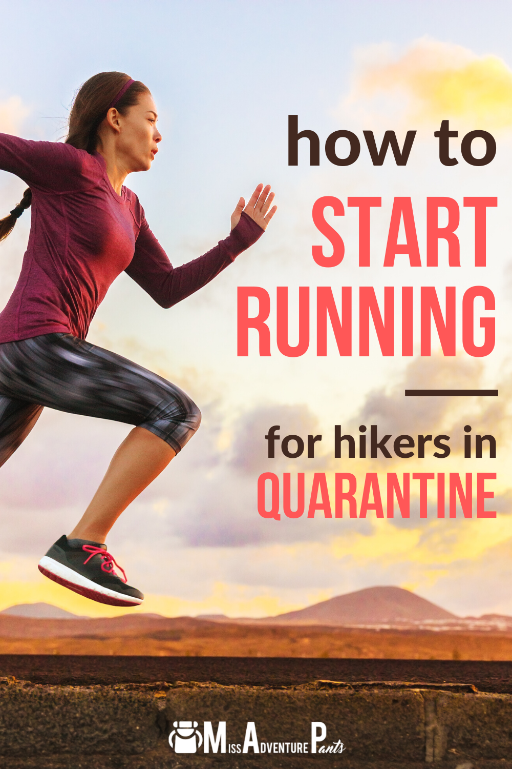 how to start running for hikers in quarantine