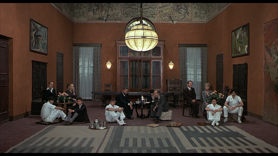 Salo Or The 120 Days Of Sodom 1975 Cineshots Salo The Marquis De Sade Film Set