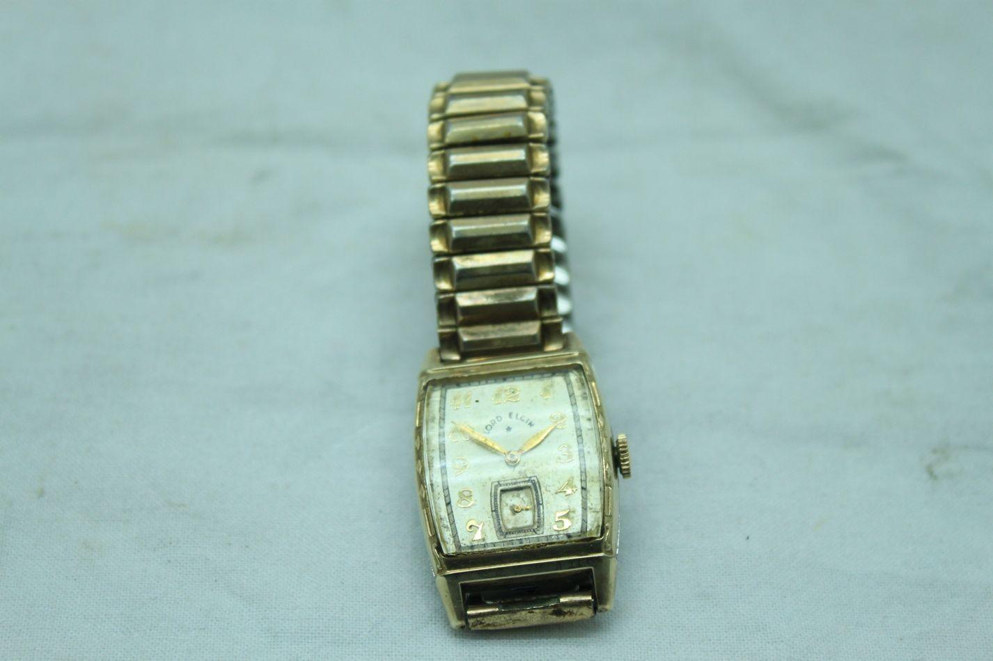 value of mens gold vintage elgin wrist watch please click on the value of mens gold vintage elgin wrist watch please click on the thumbnails above for