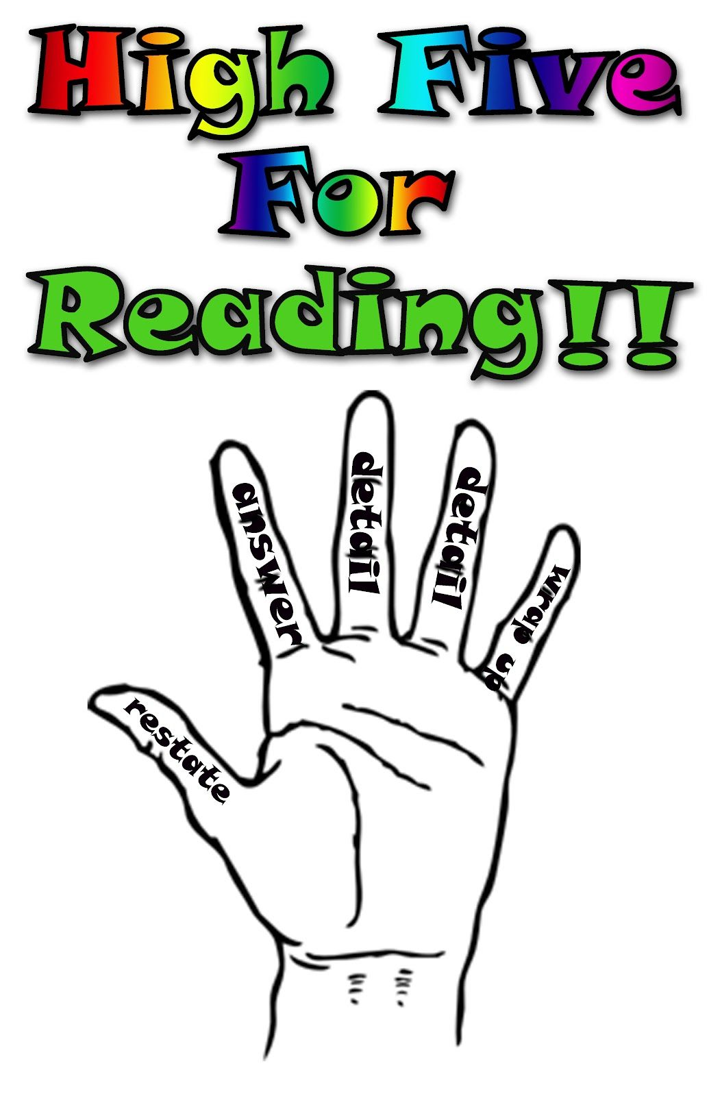 High 5 For Reading