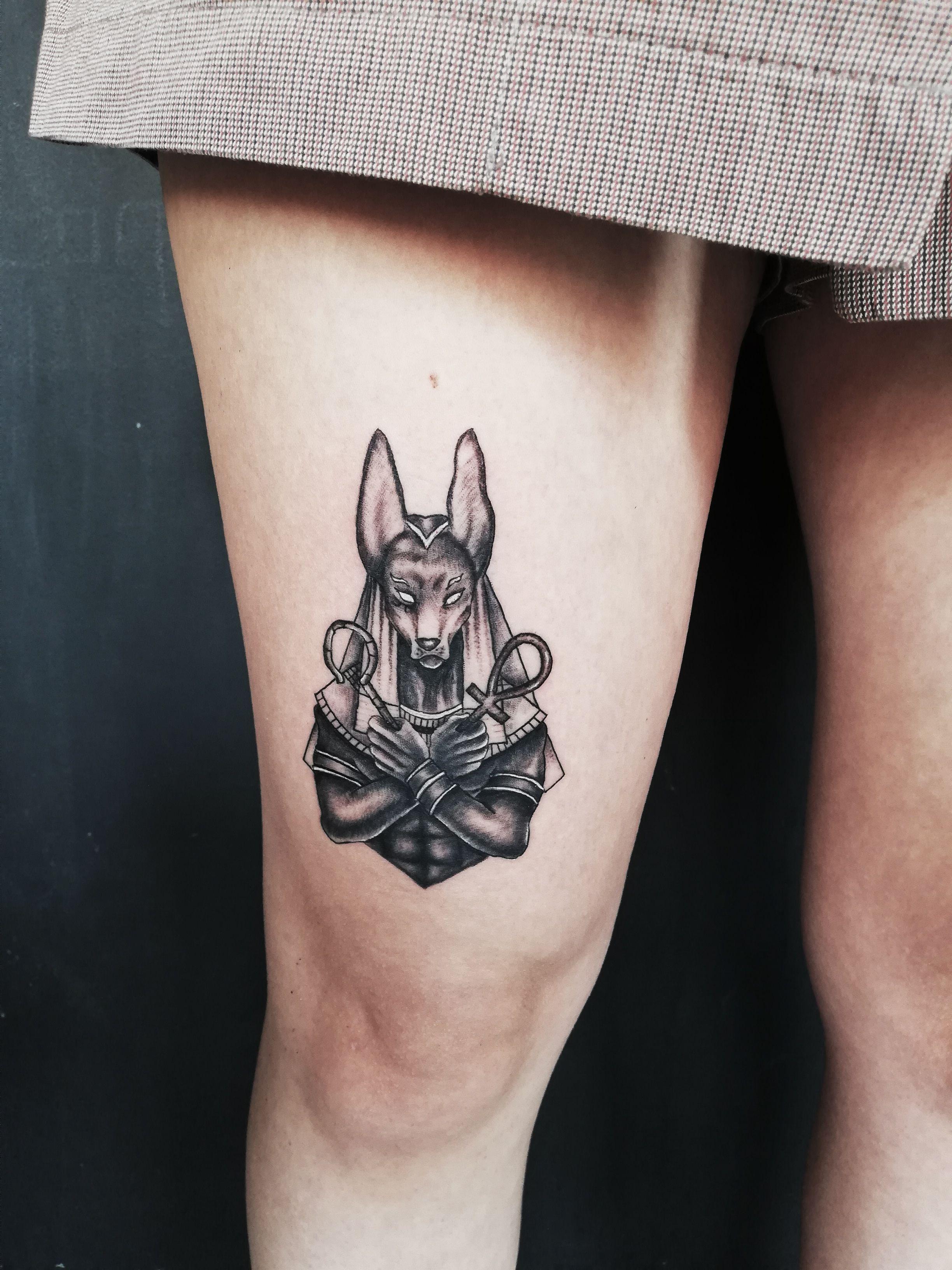 Anubis Tattoo Tattoos Anubis Tattoo Animal Tattoo