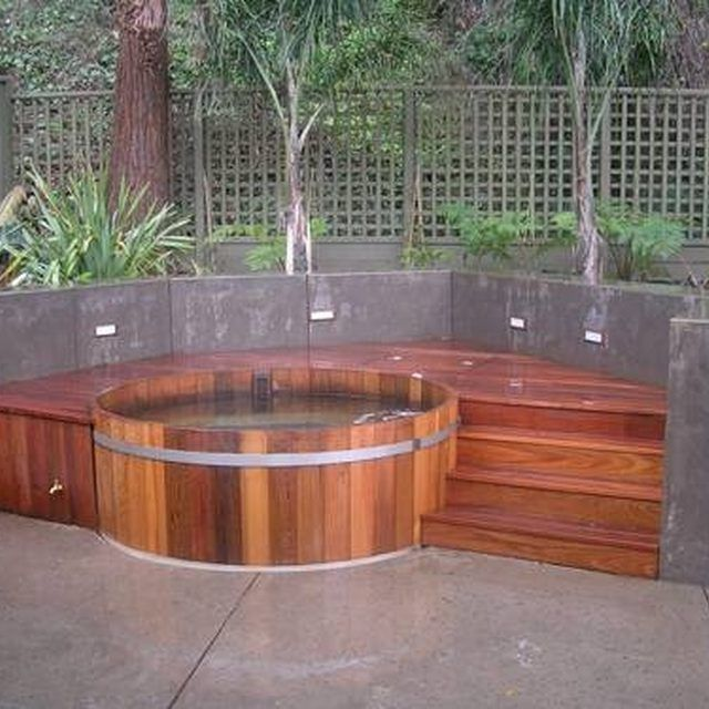 how to use a hot tub for the house pinterest piscine piscine hors sol et jardins. Black Bedroom Furniture Sets. Home Design Ideas