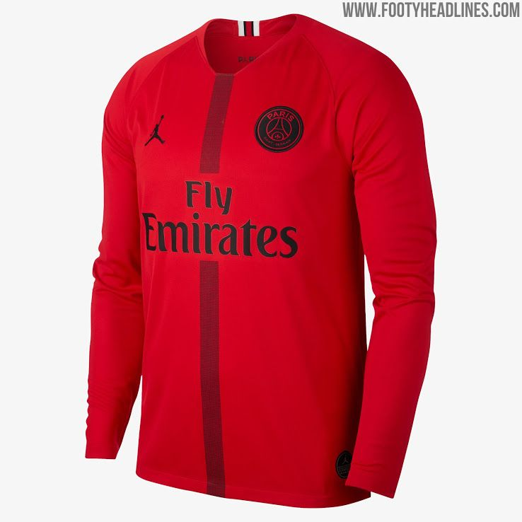 Jordan PSG 18-19 Champions League Kits Released - Footy Headlines ... 905f6e366b3