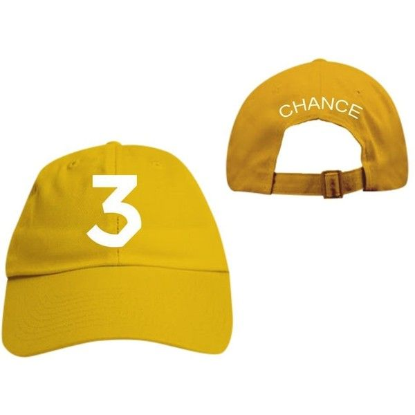 2588869bc4d370 Chance the rapper Baseball Cap Streetwear Dad Hat coloring Book Yeezy...  ($20) ❤ liked on Polyvore featuring men's fashion, men's accessories and  men's ...
