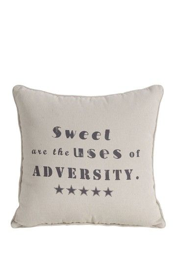 Sweet Square Pillow on HauteLook