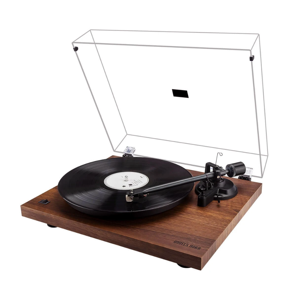 Vinyl Record Player Vintage Walnut Turntable Angelshorn Vintage Vinyl Record Player Vintage Record Player Turn Table Vinyl