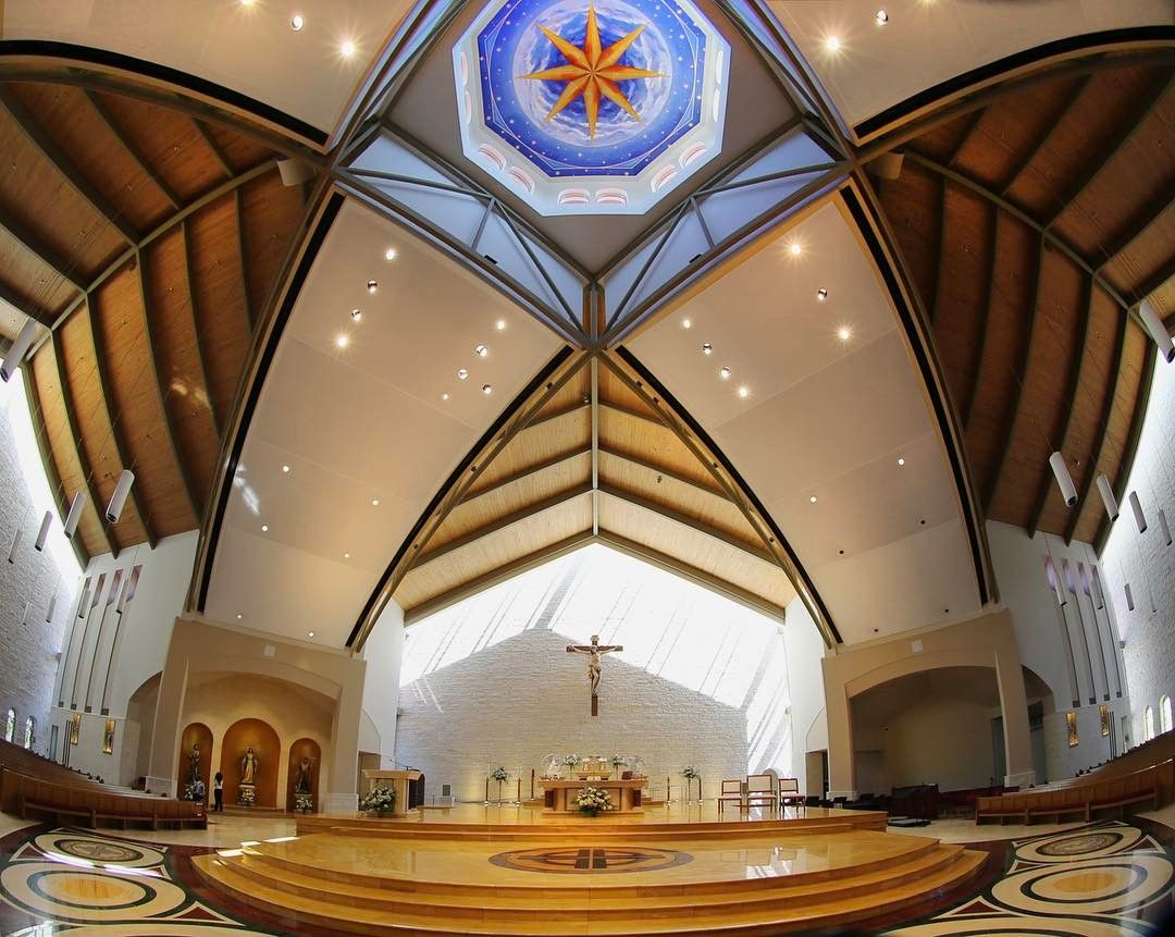 St John Vianney Catholic Church In Houston Tx Renovation Liturgical Design By