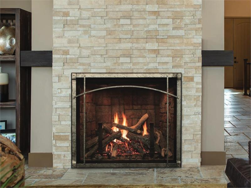 Renegade Gas Fireplace By American Hearth With Images Gas
