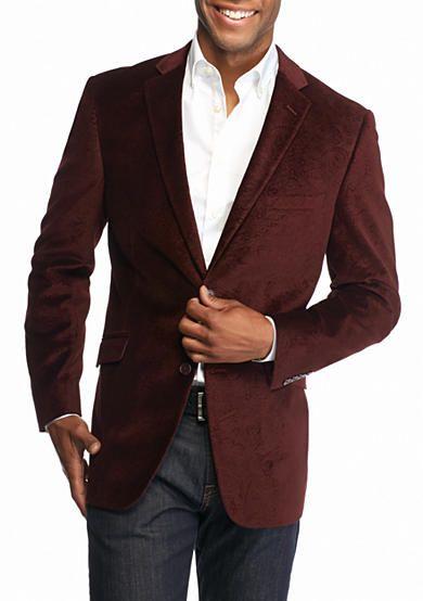 a82ba0b86f00 Madison Burgundy Paisley Velvet Sport Coat | clothing in 2019 ...