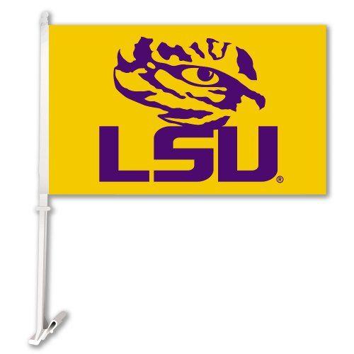 NCAA LSU Tigers Car Flag with Wall Brackett BSI http://www.amazon.com/dp/B00ISN69I8/ref=cm_sw_r_pi_dp_37MCub0R5S47N