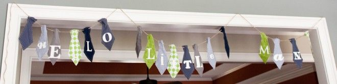 One of the cutest bunting banners ever!