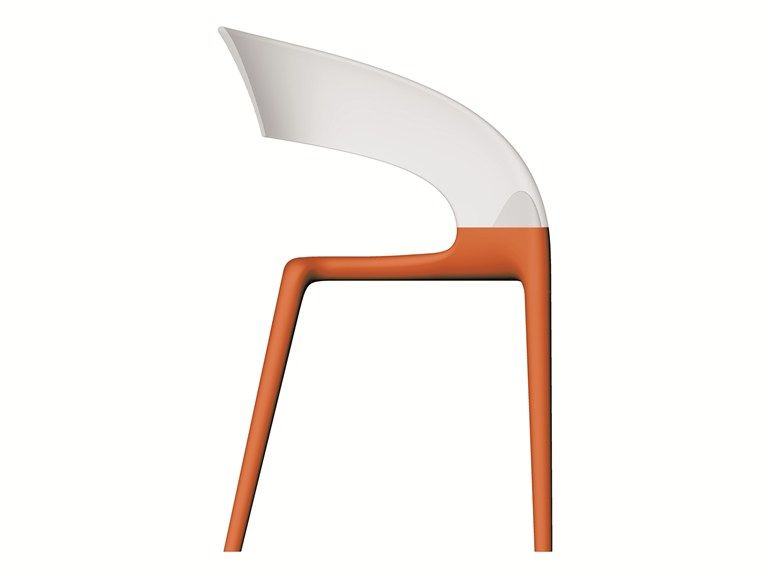 Stuhl RING By Driade Design Philippe Starck, Eugeni Quitllet