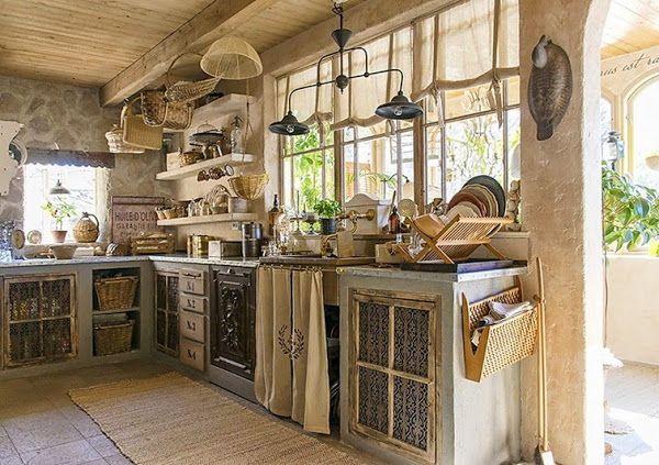 Cocinas Vintage De Obra Buscar Con Google Casas Toscanas