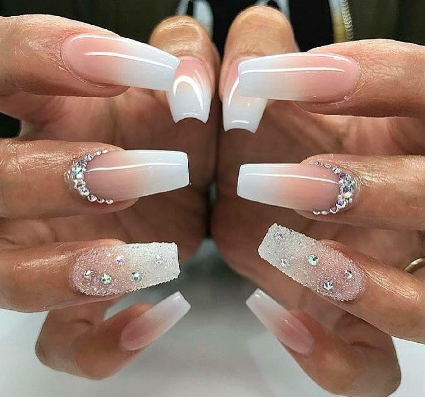 Pin by յɑy$ on ժ ϲƙ ցɾյթթҽɾs | Nails, Acrylic Nails, White ...