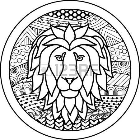50368402 Zodiac Sign Leo Jpg 450 450 Sternzeichen Ausmalbilder Ausmalen