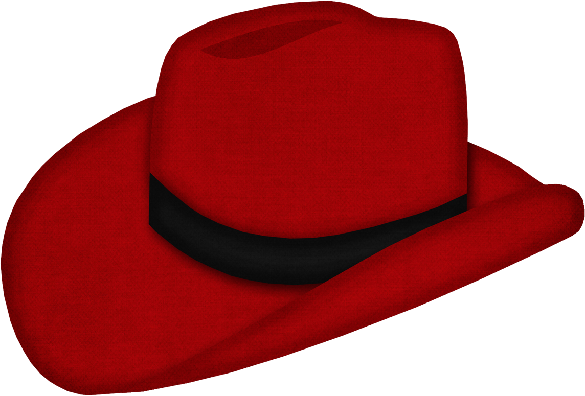 Jss Yeehaw Hat Red Png Red Cowboy Hat Cowboy Cute Clipart