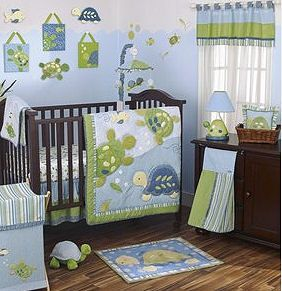 Turtle Baby Shower Theme Ideas Sea Turtles Reef Nursery Crib Bedding Set