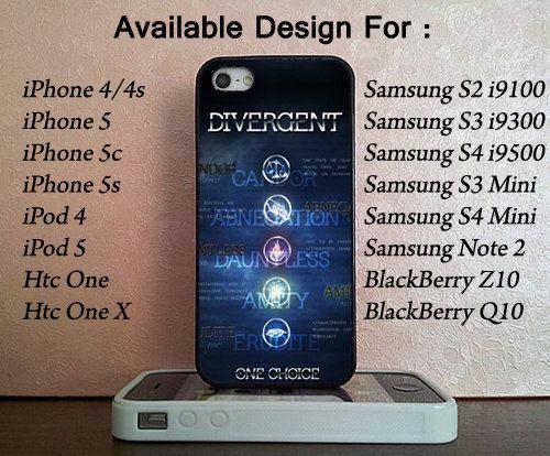 Divergent Symbol For Iphone 44s55c5c Ipod 45 Samsung Galaxy