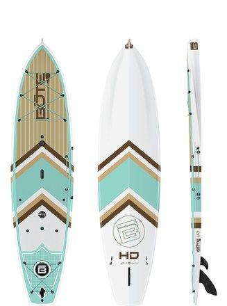 Bote Hd Stand Up Paddle Board 10 6 Paddle Boarding Paddle Paddle Board Yoga