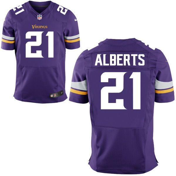 Mens Minnesota Vikings Nike Purple Customized 2014 Elite Jersey ...