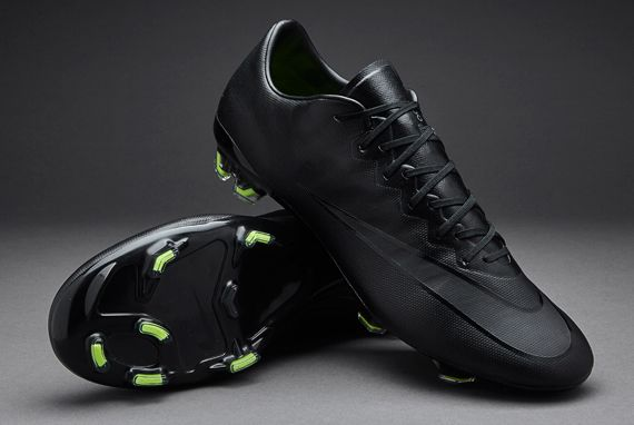 07fae2975d2681 Nike Mercurial Vapor X FG - Black Black Volt