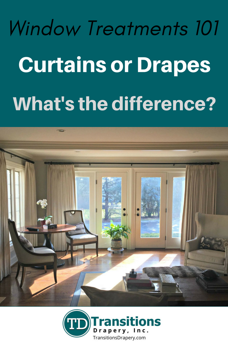 Difference Between Curtains And Drapes Transitions Drapery