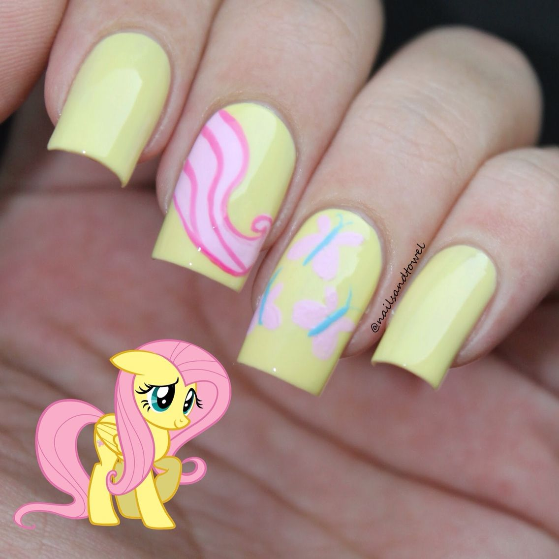 Fluttershy. Details on my blog www.katys21j.blogspot.com