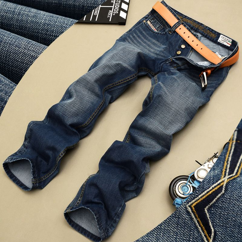 new disel jeans mens  famous brand  ripped jeans for men biker jeans robin designer sjeans for man => Price : $27.00
