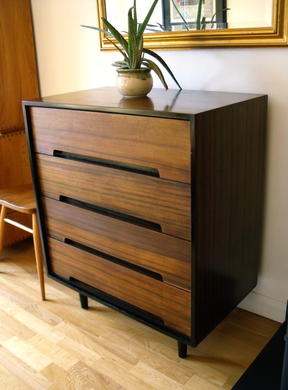 Light Walnut Bedroom Furniture Ethnicraft Light Frame Teak Chest Of Drawers Solid Wood