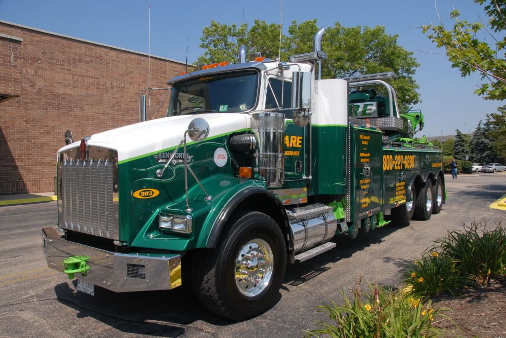o\'hare tow trucks and wreckers | old wrecker and tow truck pictures ...