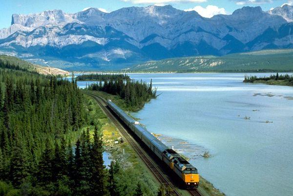 Via rail the canadia TorontoVancouver