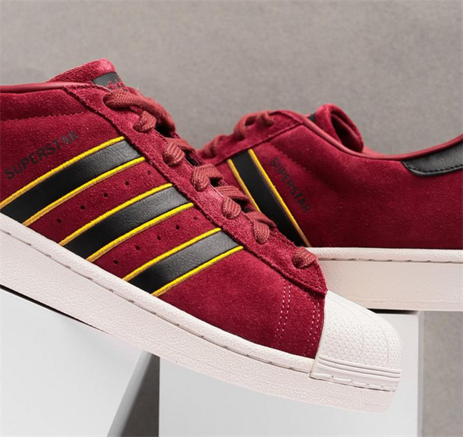 outlet store b660d 1cb8b ADIDAS ORIGINALS SUPERSTAR RED BLACK YELLOW ADIPRENE CM8079  model  shoes   sneakers  styles