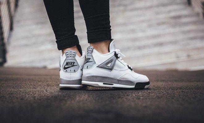 Air Jordan 4 Retro OG White Cement BG