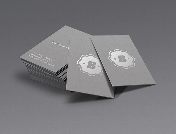 Silver business card mockup business cards design pinterest silver free business card mockup psd free premium business card mockup psd files for presentation reheart Images