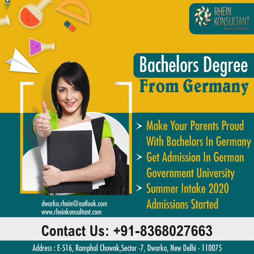 Get Your Bachelor S Degree From Germany In Germany You Get A