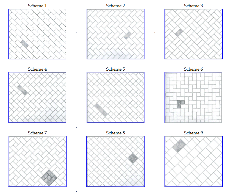 Tile Patterns Using 6x 8 Tile Installation Pattern Ideas From