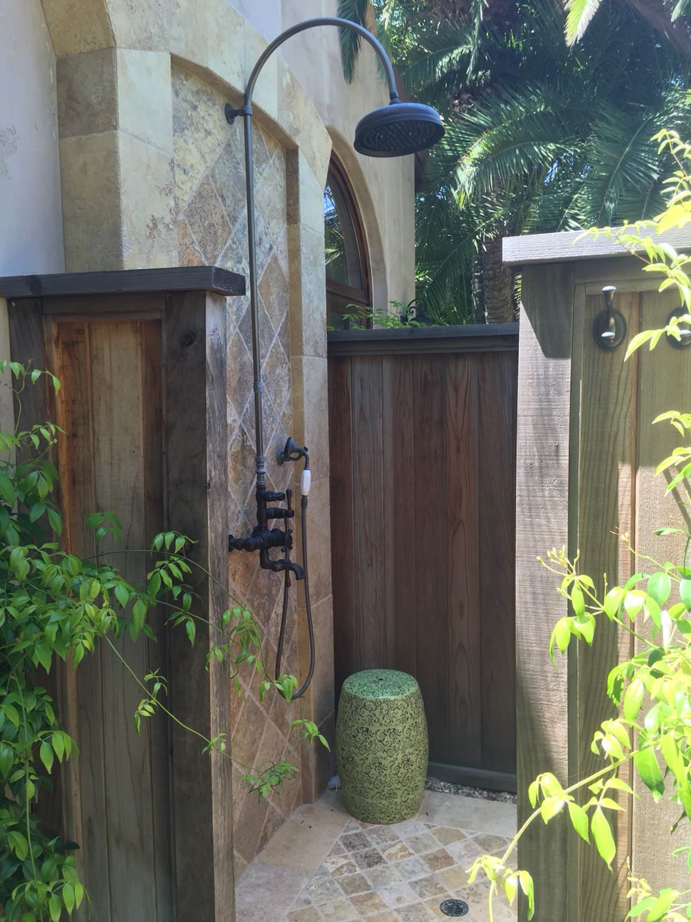 perfect for summer our client u0027s beautiful outdoor shower