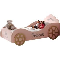 Photo of Children's bed carriage – pink – 90×200 cm scooter