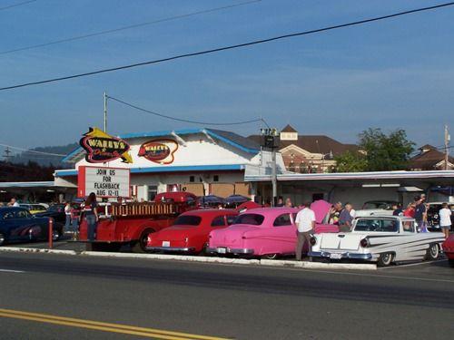 Classic Car Show At Wallys DriveIn In BUCKLEY WASHINGTON WOO - Car shows in washington state