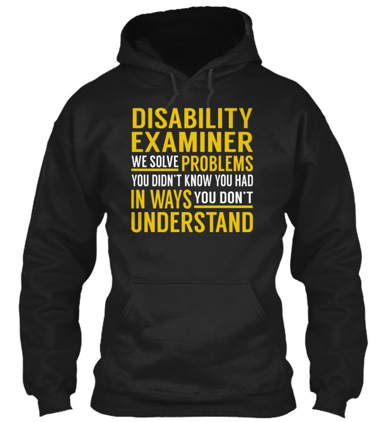 Disability Examiner - Solve Problems #DisabilityExaminer