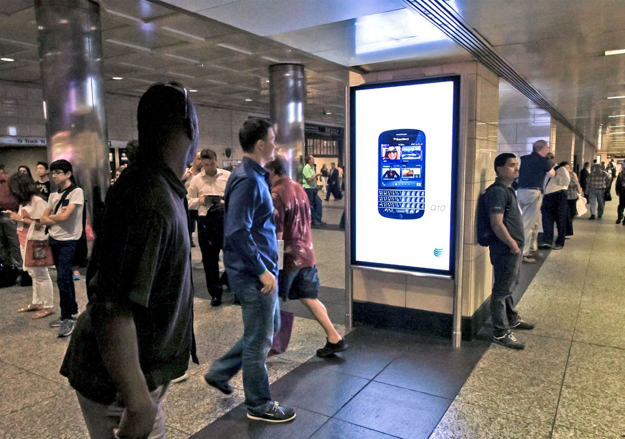 Penn Station Digital Advertising Network Expands CBS Outdoor's ...